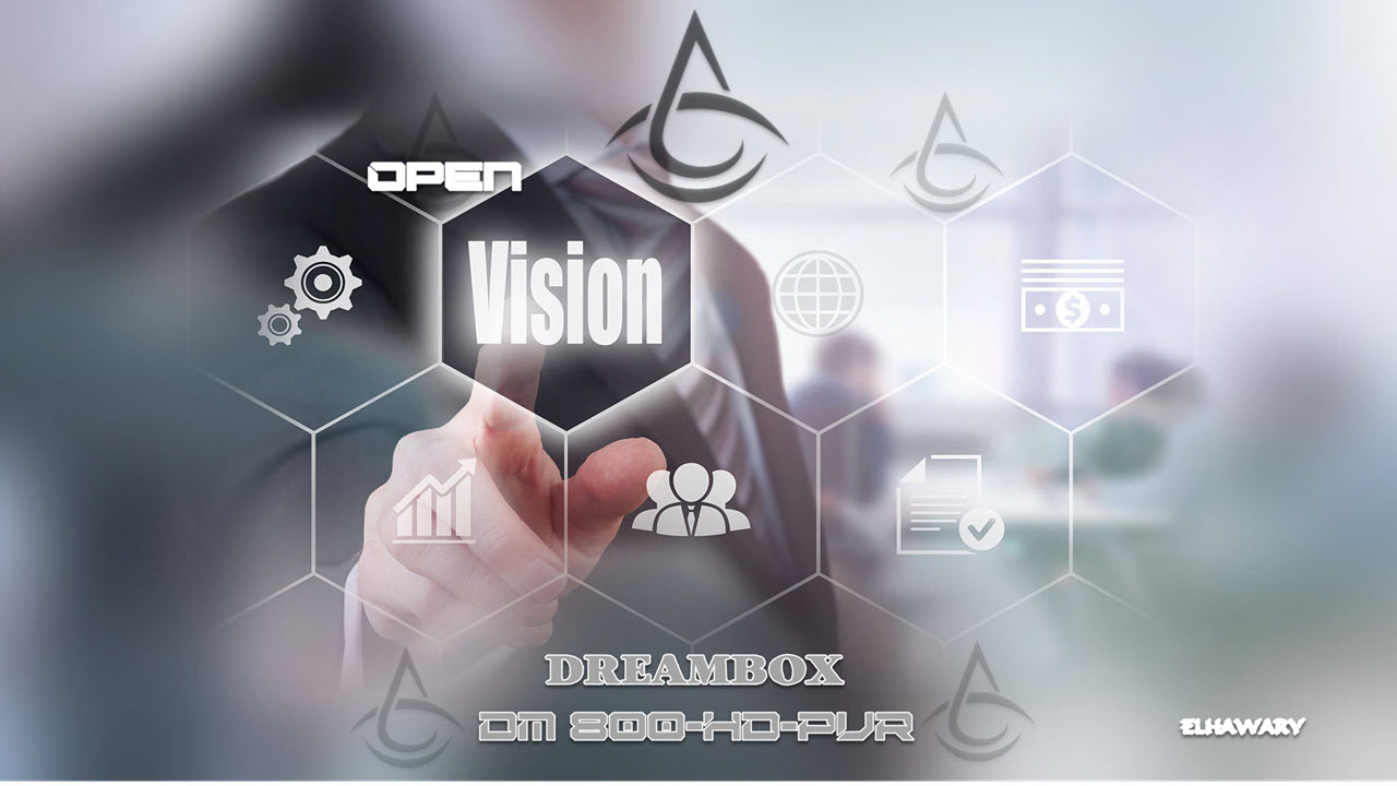 Open Vision Enigma2 Dreambox DM800 HD PVR Boot Logo by