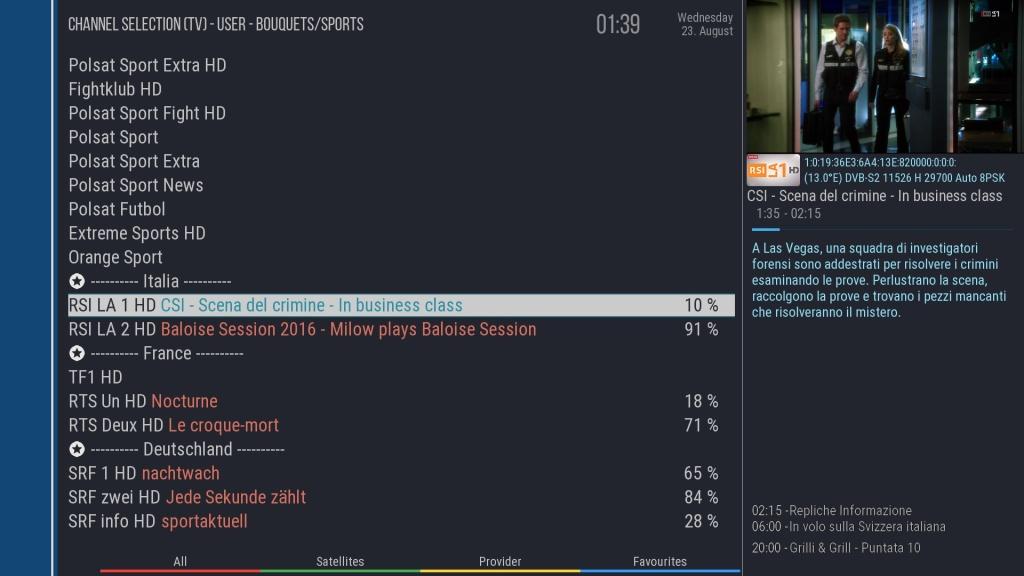 Flat UI Skin By capa MOD By RAED - Forum ~ LinuxSat